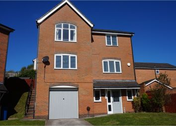 Thumbnail 5 bed detached house for sale in Steam Close, Wrexham