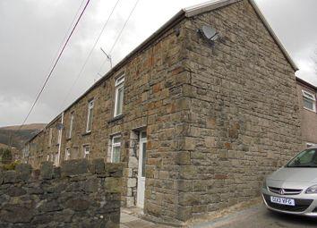 Thumbnail 2 bed end terrace house for sale in Blaenogwr Terrace, Nantymoel, Bridgend, Bridgend.