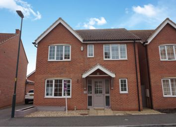 Thumbnail 4 bed detached house for sale in Fenwick Road, Scartho Top, Grimsby
