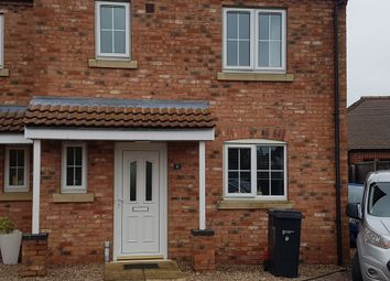 Thumbnail 3 bed semi-detached house to rent in Fen, Billinghay