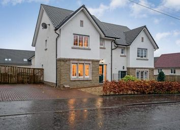 Thumbnail 3 bed semi-detached house for sale in Dunmore Street, Balfron, Glasgow, Stirlingshire