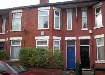Thumbnail 3 bed terraced house to rent in Redruth Street, Rusholme