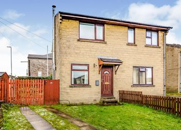 Thumbnail 2 bed semi-detached house for sale in Battinson Street, Southowram, Halifax