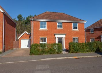 Thumbnail 4 bed detached house for sale in Mayhew Road, Rendlesham Woodbridge