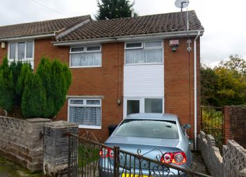 Thumbnail 3 bedroom end terrace house for sale in Cherry Grove, Merthyr Tydfil