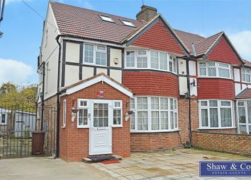 Thumbnail 4 bed semi-detached house for sale in The Crossways, Hounslow, Middlesex