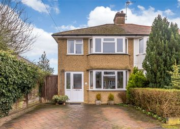 Nuttfield Close, Croxley Green, Rickmansworth, Hertfordshire WD3. 3 bed semi-detached house