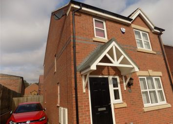 Thumbnail 3 bed link-detached house for sale in Stone Avenue, Heanor, Derbyshire