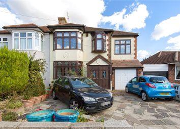 Thumbnail 4 bed semi-detached house for sale in Beltinge Road, Harold Wood