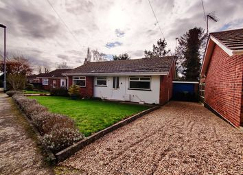Thumbnail 2 bed detached bungalow to rent in Church Close, Chedgrave, Norwich