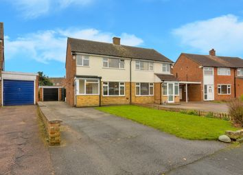 Thumbnail 3 bedroom semi-detached house for sale in The Crescent, Caddington, Luton