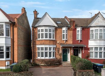 Thumbnail 4 bed semi-detached house for sale in New River Crescent, Palmers Green, London
