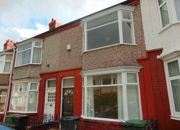 Thumbnail 3 bed terraced house to rent in Fieldside Road, Rock Ferry, Birkenhead