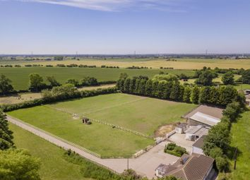 Thumbnail 4 bed equestrian property for sale in Sykes Lane, Saxilby