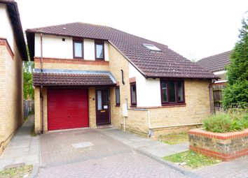 Thumbnail 3 bed detached house for sale in Hillgrounds Road, Kempston, Bedford