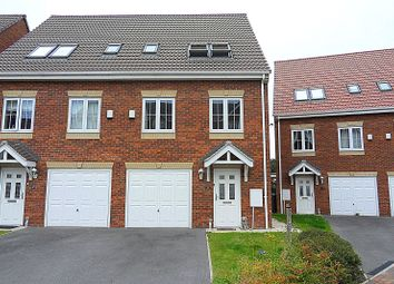 Thumbnail 4 bed semi-detached house for sale in Spring Place Gardens, Mirfield, West Yorkshire
