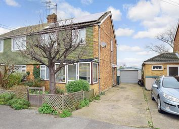 Thumbnail 3 bed semi-detached house for sale in Hilltop Road, Minster On Sea, Sheerness, Kent