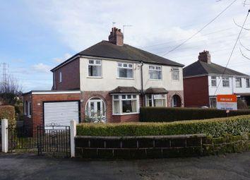 Thumbnail 3 bedroom semi-detached house for sale in Turnhurst Road, Packmoor, Stoke-On-Trent