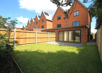Thumbnail 4 bedroom end terrace house for sale in The Mews, Barons Hall Lane, Fakenham