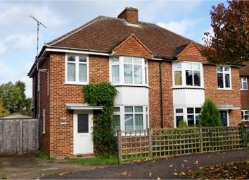 Thumbnail 3 bed semi-detached house for sale in Redhoods Way East, Letchworth Garden City