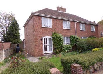 Thumbnail 3 bed semi-detached house for sale in Burch Avenue, Sandwich, Kent