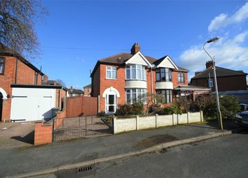 Thumbnail 3 bed semi-detached house for sale in Malvern Avenue, Hillmorton, Rugby, Warwickshire