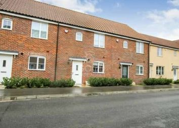 Thumbnail 3 bed terraced house to rent in Celandine View, Soham, Ely