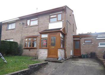 Thumbnail 3 bedroom semi-detached house for sale in Tyle Teg, Clydach, Swansea