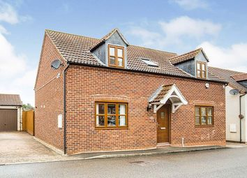 Thumbnail 3 bed detached house for sale in Peterson Drive, New Waltham, Grimsby