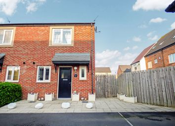 Thumbnail 2 bed semi-detached house for sale in Countess Way, Shiremoor, Newcastle Upon Tyne