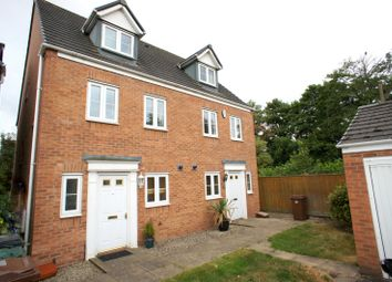 Thumbnail 3 bed semi-detached house to rent in Old Station Close, Etwall, Derby