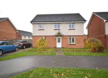 Thumbnail 4 bed detached house for sale in Kinglas Drive, Dumbarton