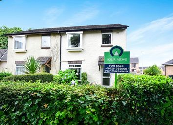 Thumbnail 3 bed terraced house for sale in Burnley Close, Newton Abbot