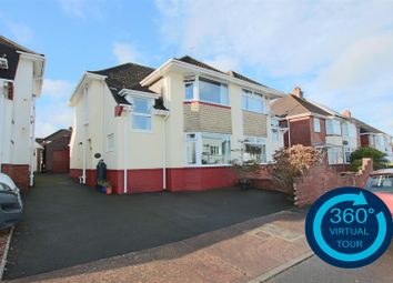Thumbnail 3 bed semi-detached house for sale in Whiteway Drive, Heavitree, Exeter