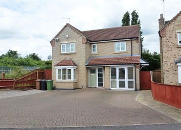 Thumbnail 4 bedroom detached house to rent in Halesowen Place, Eye, Peterborough
