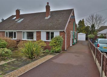 Thumbnail 2 bed semi-detached bungalow for sale in Monroe Close, Woolston, Warrington