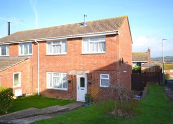 Thumbnail 3 bed semi-detached house for sale in Vearse Close, Bridport