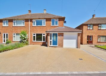 Thumbnail 3 bed semi-detached house for sale in Slade Road, Didcot