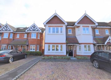 Thumbnail 4 bed semi-detached house for sale in Trenchard Close, Walton-On-Thames