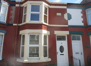 Thumbnail 2 bed terraced house to rent in Lichfield Road, Wavertree, Liverpool