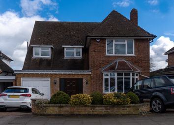 Thumbnail 5 bed detached house for sale in Downing Drive, Leicester