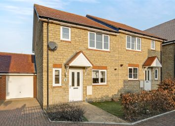 Thumbnail 3 bed semi-detached house for sale in Lapwing Lane, Watchfield, Oxfordshire