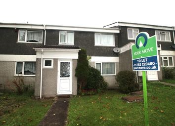 Thumbnail 3 bed terraced house to rent in Ruskin Crescent, Crownhill, Plymouth