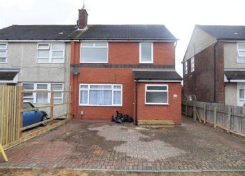 Thumbnail 3 bedroom end terrace house to rent in Welcombe Avenue, Swindon