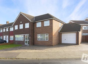 Thumbnail 5 bedroom end terrace house for sale in Beaumont Drive, Northfleet, Gravesend, Kent