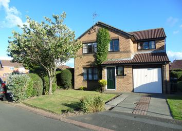 Thumbnail 4 bed detached house for sale in Cornforth Close, Ashington