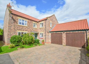 Thumbnail 5 bed detached house for sale in Orchard Close, Kirby Misperton, Malton