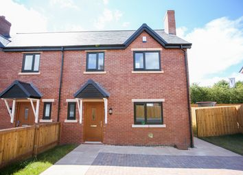 Thumbnail 3 bed semi-detached house for sale in Highfield Way, Market Drayton