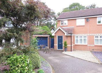 Thumbnail 3 bed semi-detached house for sale in Hood Drive, Great Blakenham, Ipswich