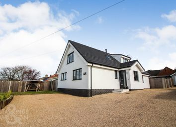 Thumbnail 4 bed detached house for sale in Station Road, Reedham, Norwich